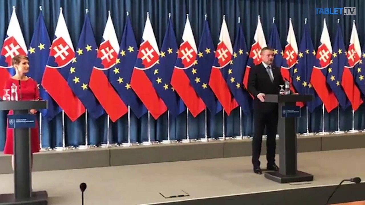 ZÁZNAM: Brífing premiéra P. Pellegriniho