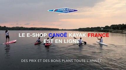 Le E-SHOP Canoë Kayak France est en ligne !
