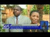 RTB/Rencontre entre la coordonnatrice  résidente du système des nations unies au burkina et le chef de file de l'opposition burkinabé