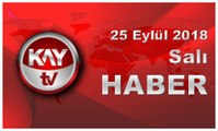 26 Eylül 2018 Kay Tv Haber
