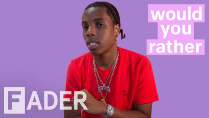 roy woods talks about camping with drake and 40 and more would you rather season 1 episode 5