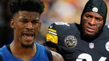 Le'Veon Bell To Fake Injury To Leave Steelers? Jimmy Butler Begs To be Traded to Miami   Daily Roundup