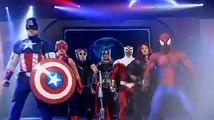 Opplev Marvel Univers Live med Spiderman, Iron Man, Captain America, Thor, Hulk og WolverineMarvel Univers superhelter samles når verdens mest teknisk avansert