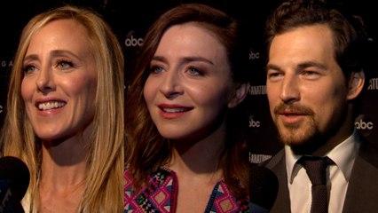 """Grey's Anatomy"" Stars Give Scoop on Season 15"