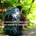 Le sac qui flotte sur votre dos, c'est magique, c'est le Hoverglide conçu par Lightning Packs LLC !