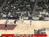 BASKET BALL - Vince Carter alleyoop dunk