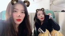 Irene & Yeri (Red Velvet) đáng yêu quay clip tặng fan