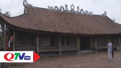 Độc đáo kiến trúc đình Trà Cổ - QTV