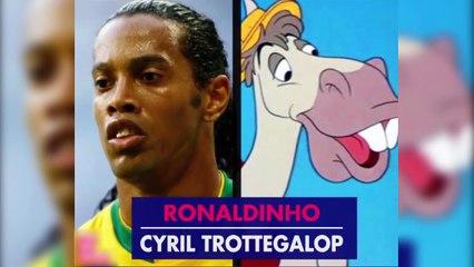 Những cầu thủ bóng đá giống hệt nhân vật hoạt hình