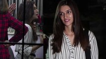 Kriti Sanon spotted in NEW look; Watch video | FilmiBeat