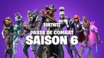 Fortnite Saison 6 - Aperçu du Passe de combat