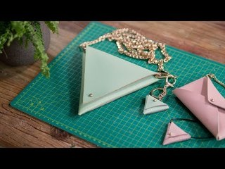 《造物集》SO6E39 达人教你自制时尚几何小包