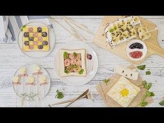 【魔力美食】吐司6种创意吃法