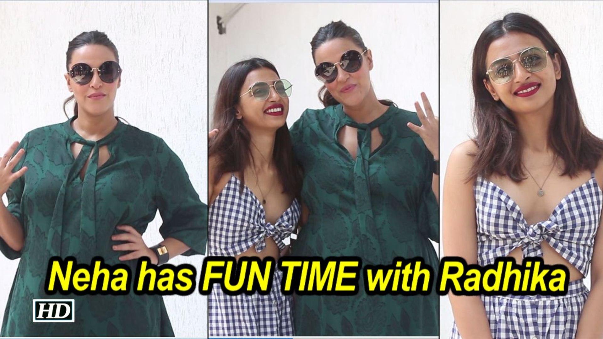 #NoFilterNeha : Neha Dhupia has FUN TIME with Radhika Apte