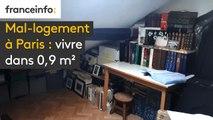Mal-logement à Paris : vivre dans 0,9 m²