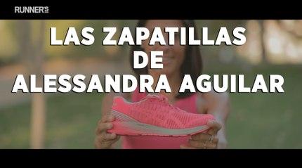 #RW200   Alessandra Aguilar y sus zapatillas