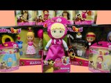 Masha and the Bear TOY MANIA Haul Figure Unbox Review & Play