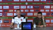 Vidéo - le point presse avant Clermont / Gazélec avec coach Cartier et Julian Palmieri !