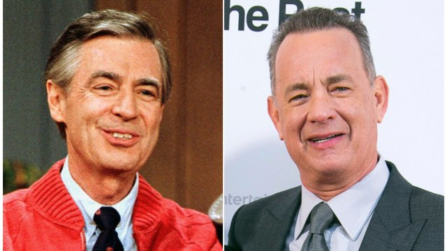 Tom Hanks Debuts As Mr. Rogers