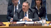 Pompeo Chairs The United Nations Security Council On The DPRK