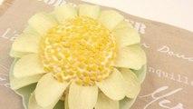 Cómo preparar una flor de patata