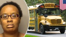 School bus driver fired for letting young kids drive the bus