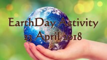 Earth Day Activity PGMS 23 April 2018