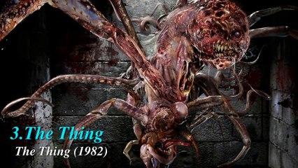 Top 5 quái vật ngoài hành tinh kinh dị nhất đến từ các bộ phim | Truyện tranh