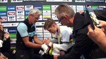"""Mondiaux Innsbruck-Tirol 2018 - Remco Evenepoel : """"J'ai chuté mais je n'ai jamais paniqué"""""""