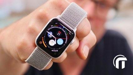 Apple Watch Série 4 - Unboxing et mise au poignet