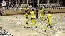 RESUM: Semifinal Supercopa Futbol Sala. El Tortell Atlètic Escaldes  - Penya Encarnada (5-0)