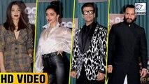Bollywood Celebs At GQ Men Awards Full Video | Saif Ali Khan, Deepika Padukone