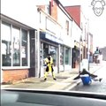 Mortal Kombat en pleine rue