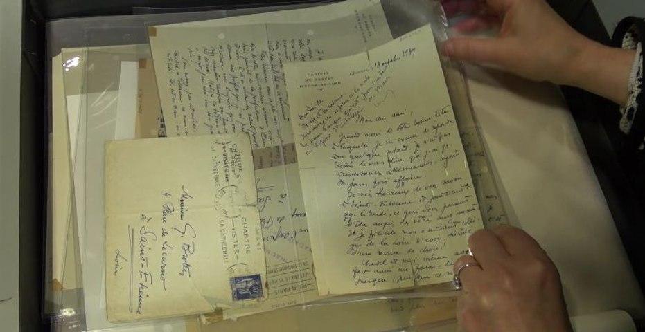 Le fonds Georges Brottes, ami de Jean Moulin. | Musée de la Libération de Paris, le déménagement