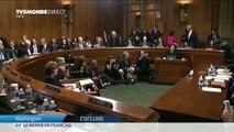 USA : Devant le Sénat, la femme qui accuse d'agression sexuelle le juge Kavanaugh, raconte sa version des faits la voix tremblante et en larmes