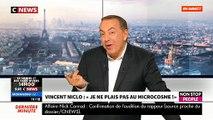 """Vincent Niclo pousse un coup de gueule sur le plateau de """"Morandini Live"""": """"Ca dérange certains médias que j'arrive à vendre des albums, à remplir mes salles"""" - VIDEO"""