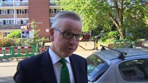 Gove calls for party unity and backs Theresa May