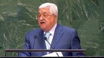Palestinian President Mahmoud Abbas: 'Jerusalem is not for sale'