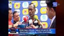 """Pedro Pablo Perlaza- """"Emelec es uno de los rivales más fuertes del fútbol ecuatoriano"""""""
