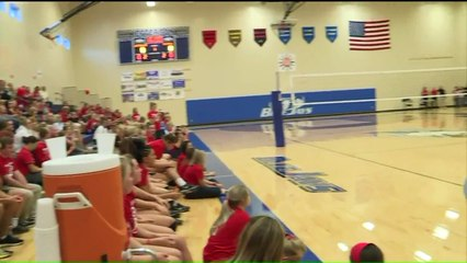 Volleyball Coach Reunited with Men Who Saved Her Life After Heart Attack