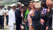 Eau, sargasses: Macron veut rassurer les Guadeloupéens