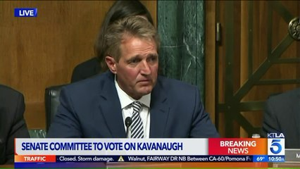 Sen. Flake Asks for FBI Investigation Into Kavanaugh Allegations Before Full Senate Vote