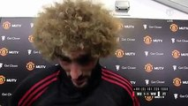 """Marouane Fellaini to MUTV: """"We have to do better. We have another game on Tuesday and we have to look forward to that."""""""