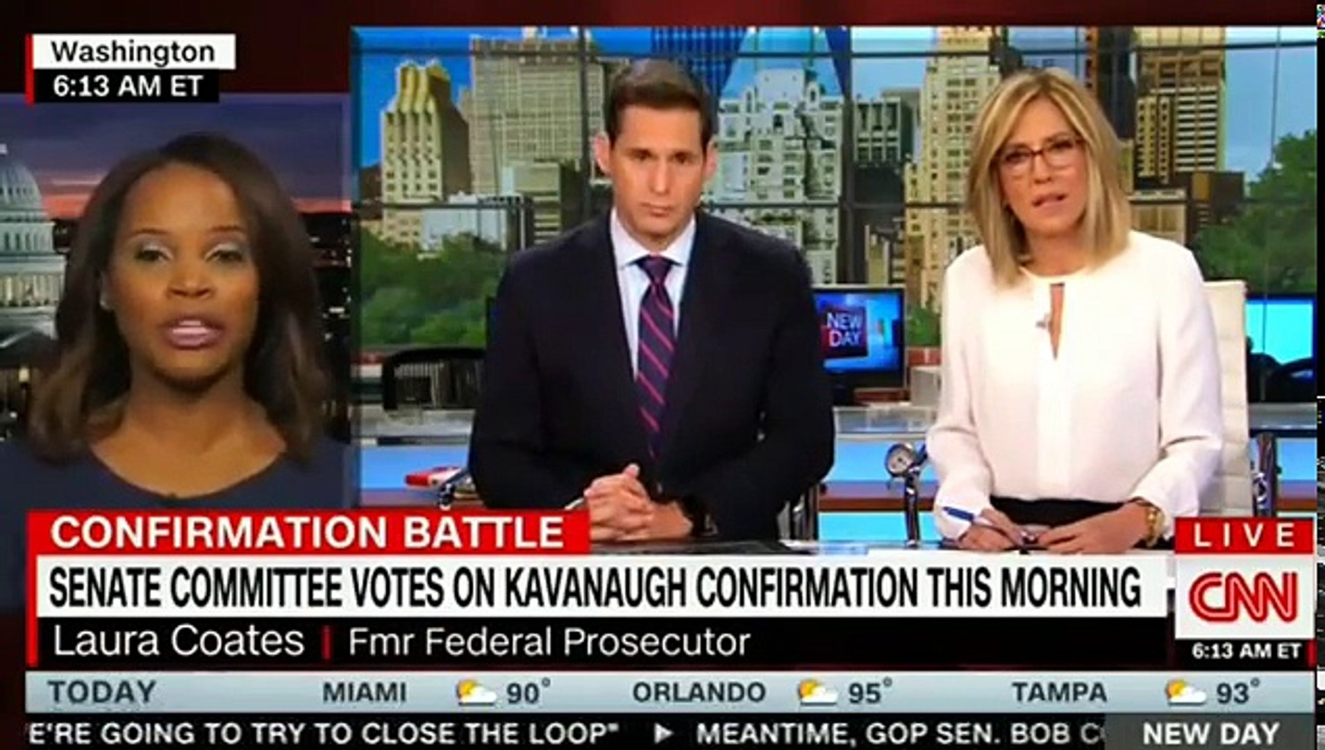 John Berman Excellent Pointing Out All of Kavanaugh's Lies in Suring The Hearing