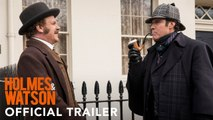HOLMES AND WATSON  Movie (2018) - Will Ferrell and John C. Reilly