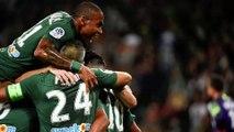 Ligue 1 - 8e Journée _ Victoire Des Verts Face À Monaco 2-0 - HIRES