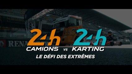 Camion vs kart : le défi des extrêmes sur le circuit Bugatti !