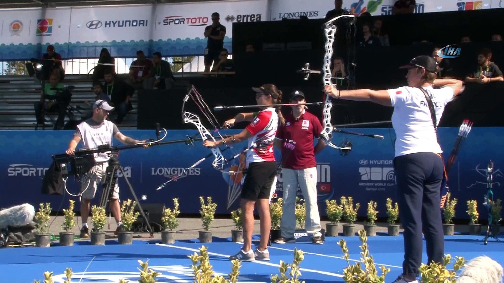 Dünyanın en iyi okçuları Samsun'da yarışıyor