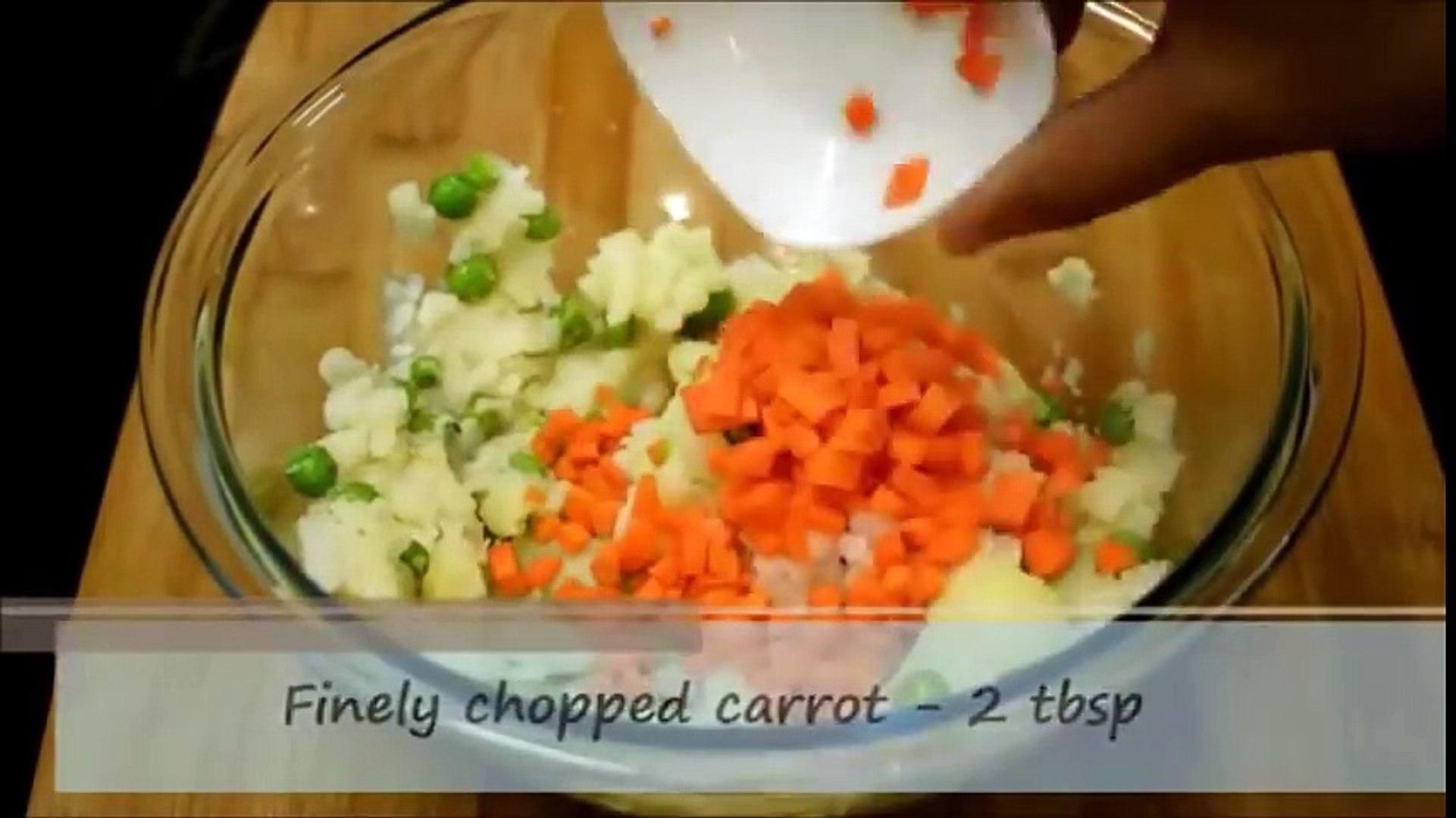 Potato lollipop recipe - Veg lollipop recipe -