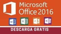 Descargar y activar Office 2016 en español gratis